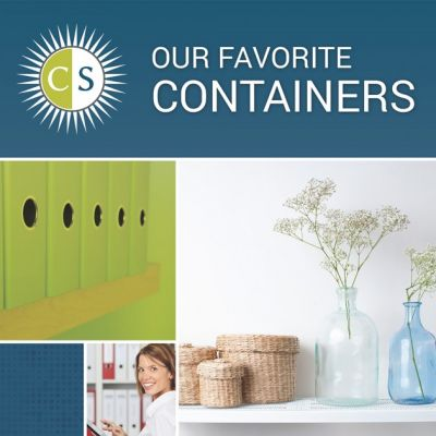 Clear & Simple, Our Favorite Containers