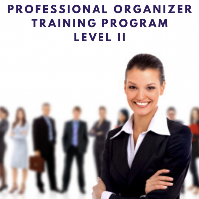 Clear & Simple, Professional Organizer Training Program, Level II