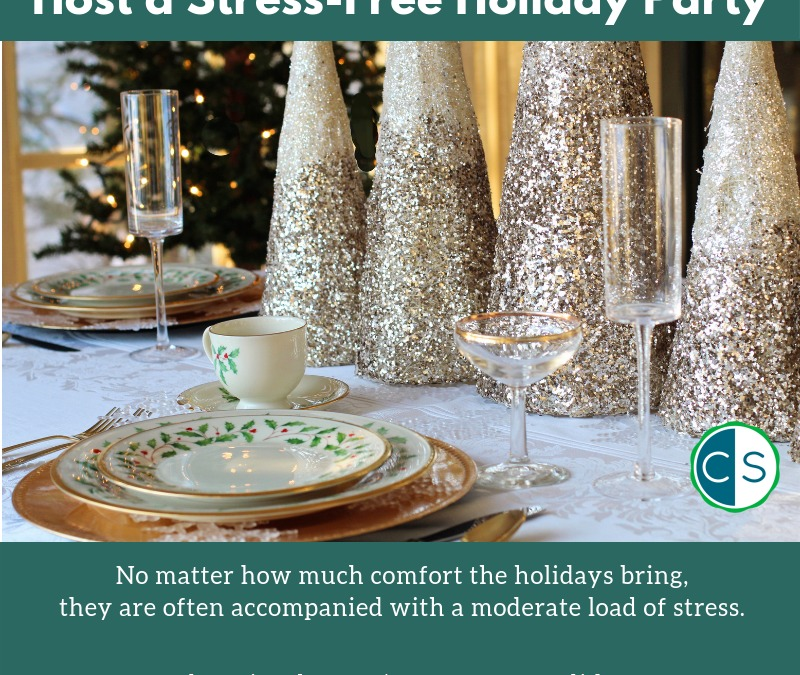 Tips for a Stress-Free Holiday Party