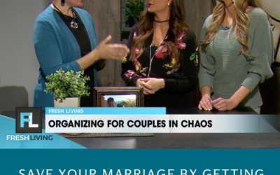 Organizing helps Couples in Chaos