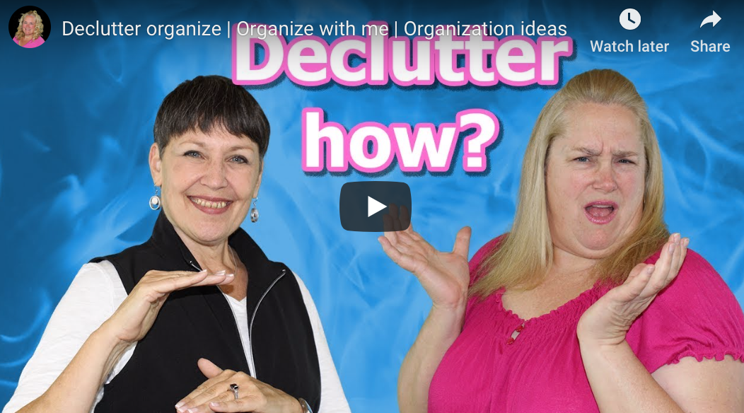 Declutter HOW?