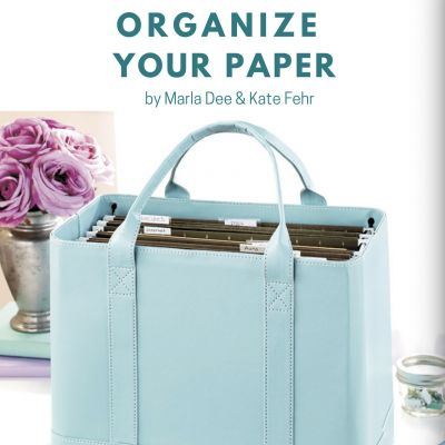 Clear & Simple, SEE IT. MAP IT. DO IT., Organize Your Paper