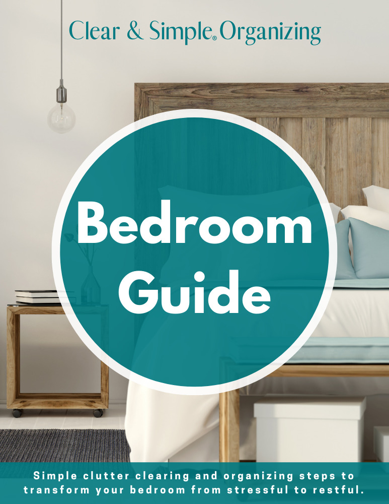 Clear & Simple, SEE IT. MAP IT. DO IT., Marla Dee, Kate Fehr, Organize Your Bedroom
