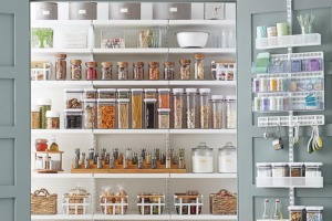 Clear & Simple, SEE IT. MAP IT. DO IT., Organize Your Kitchen, Organize Your Pantry, Container Store, elfa
