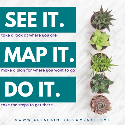 Clear & Simple, SEE IT. MAP IT. DO IT., Marla Dee