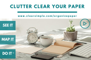 Clear & Simple, Marla Dee, Clutter Clear Your Paper