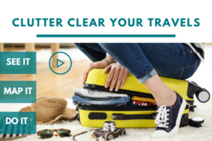 Clear & Simple, SEE IT. MAP IT. DO IT., Marla Dee, Kate Fehr, Organize Your Travel