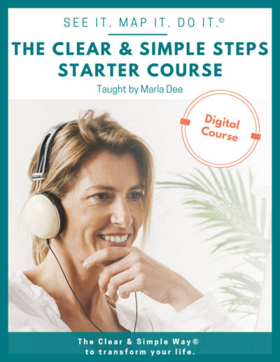 Clear & Simple, SEE IT. MAP IT. DO IT., Get Organized The Clear & Simple Way, Digital Course, Organizing Course