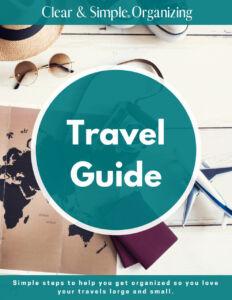 Clear & Simple, SEE IT. MAP IT. DO IT., Marla Dee, Kate Fehr, Organize Your Travel, Organize Your Travel, Container Store, elfa,