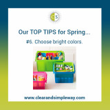 Clear & SIMPLE, Top Spring Tips, Containers
