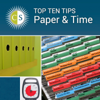 Clear & SIMPLE TOP TEN Tips for Paper & Time