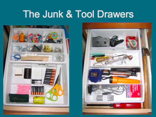 Clear & SIMPLE, Junk Drawers