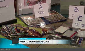 Clear & SIMPLE, Marla Dee, Photo Organizing, ABC's
