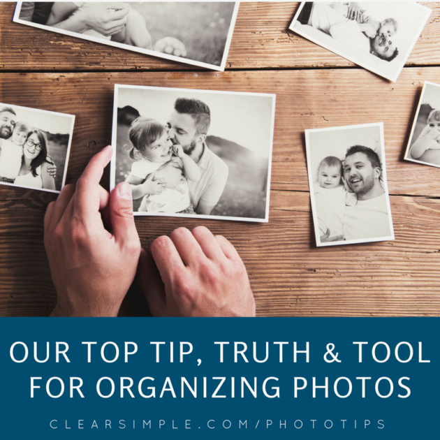 Clear & SIMPLE, Photo Organizing