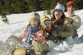 Clear & SIMPLE, Family Sledding