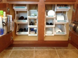 Clear & SIMPLE, under-sink Bins